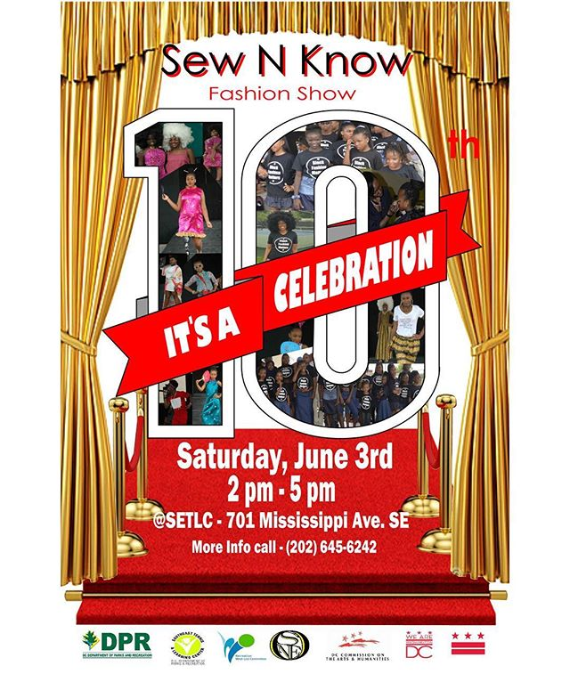 Support young kids who are doing great things.  If you're in the D.C. area you won't want to miss this event!!! 😊