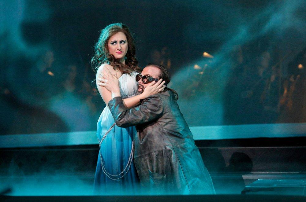 Wellgunde ( Das Rheingold ) Minnesota Opera, 2016 C: Cory Weaver
