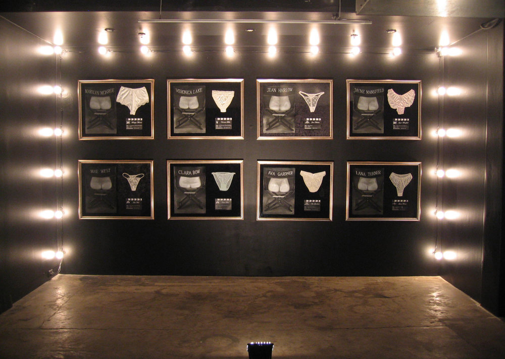 Girls, Girls, Girls II (Installation shot)