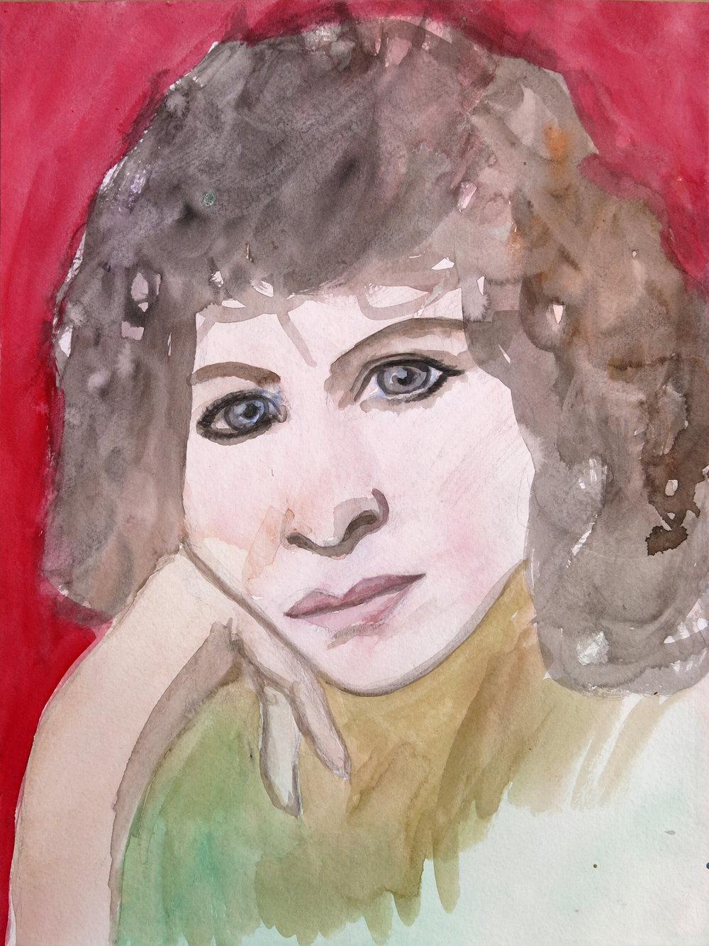 Barbra Streisand Portrait #132