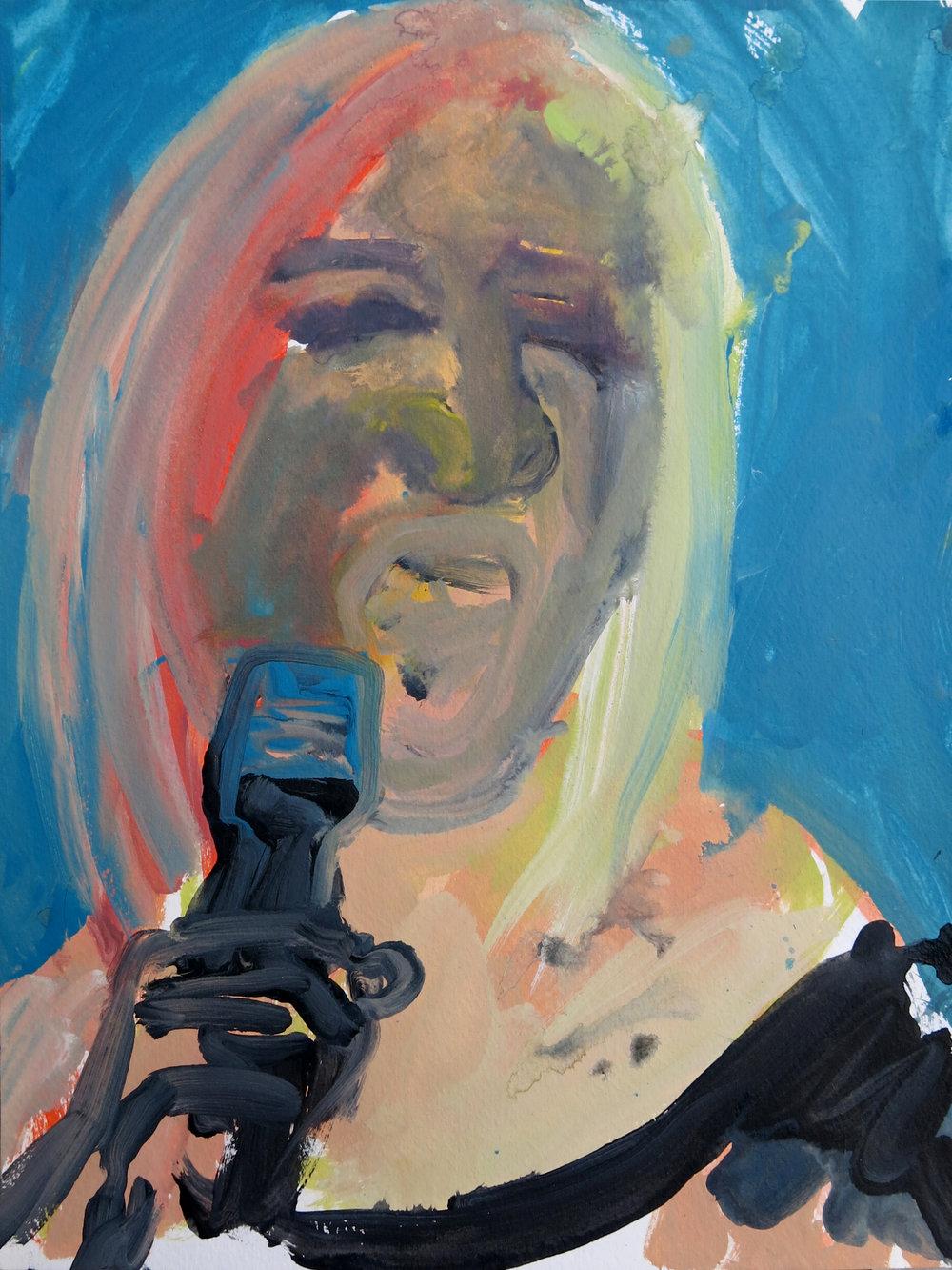 Barbra Streisand Portrait #143