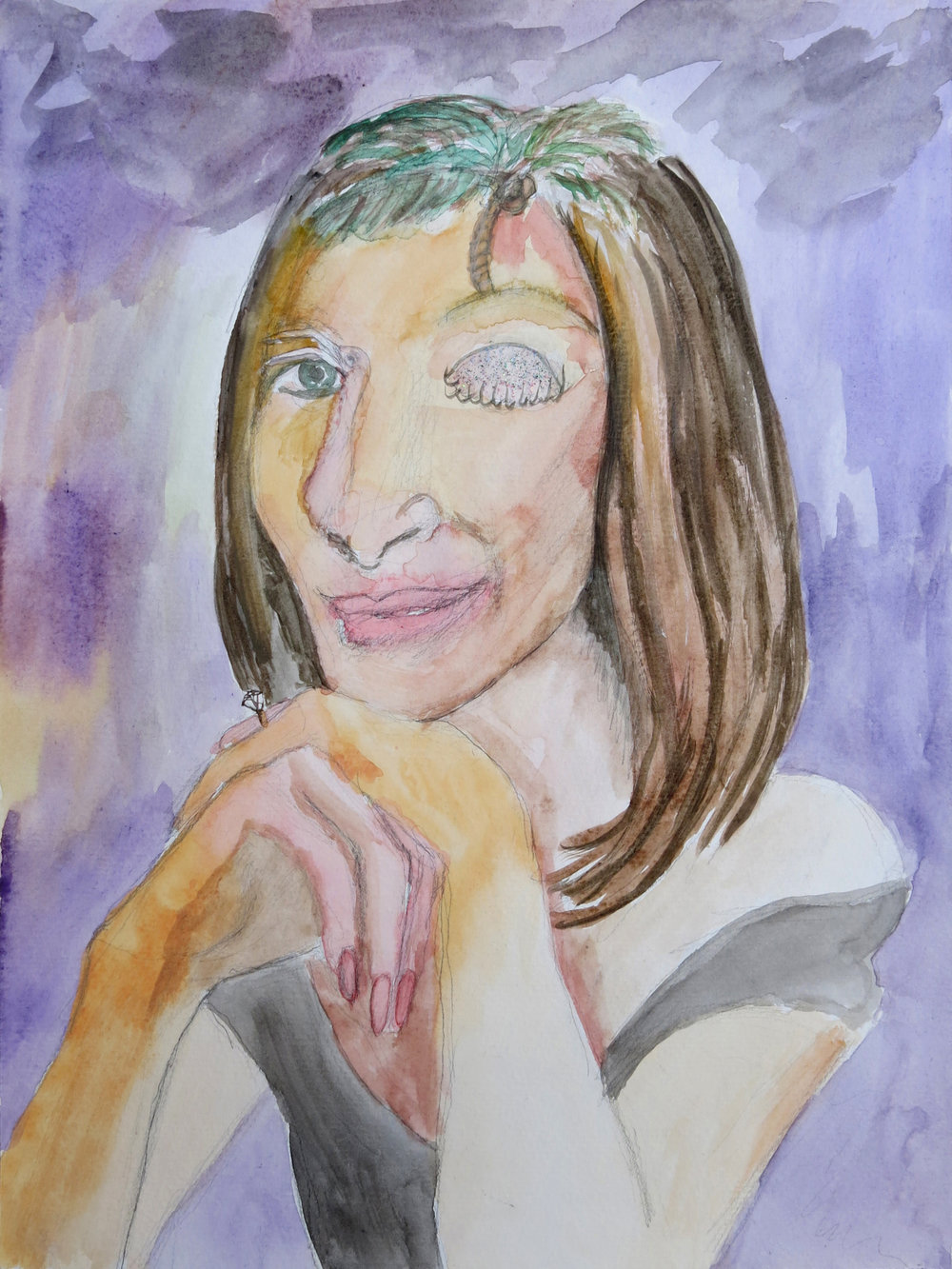 Barbra Streisand Portrait #158