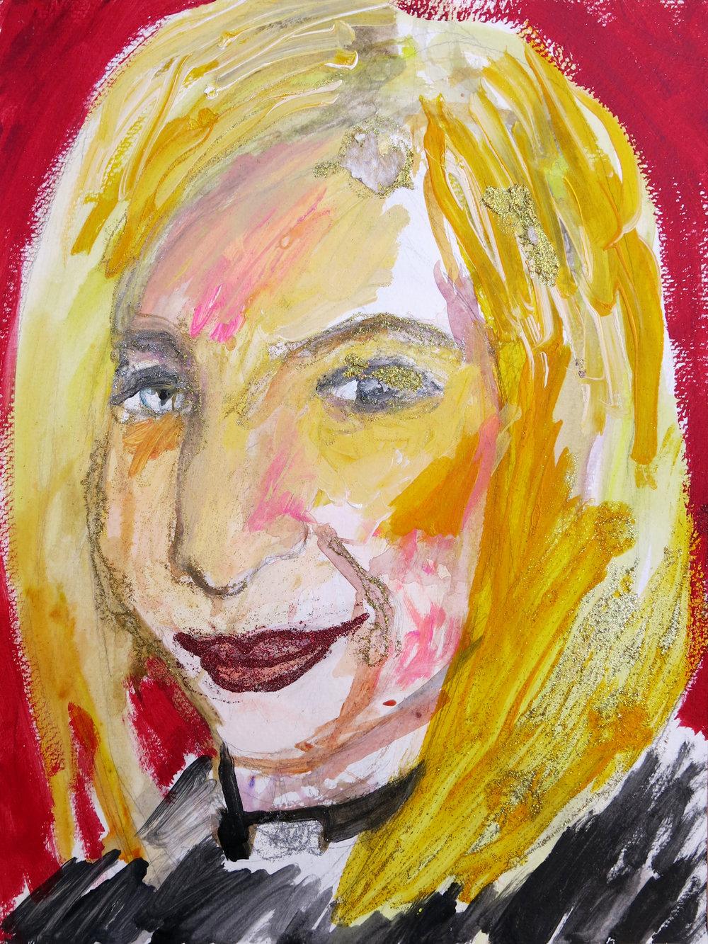 Barbra Streisand Portrait #167