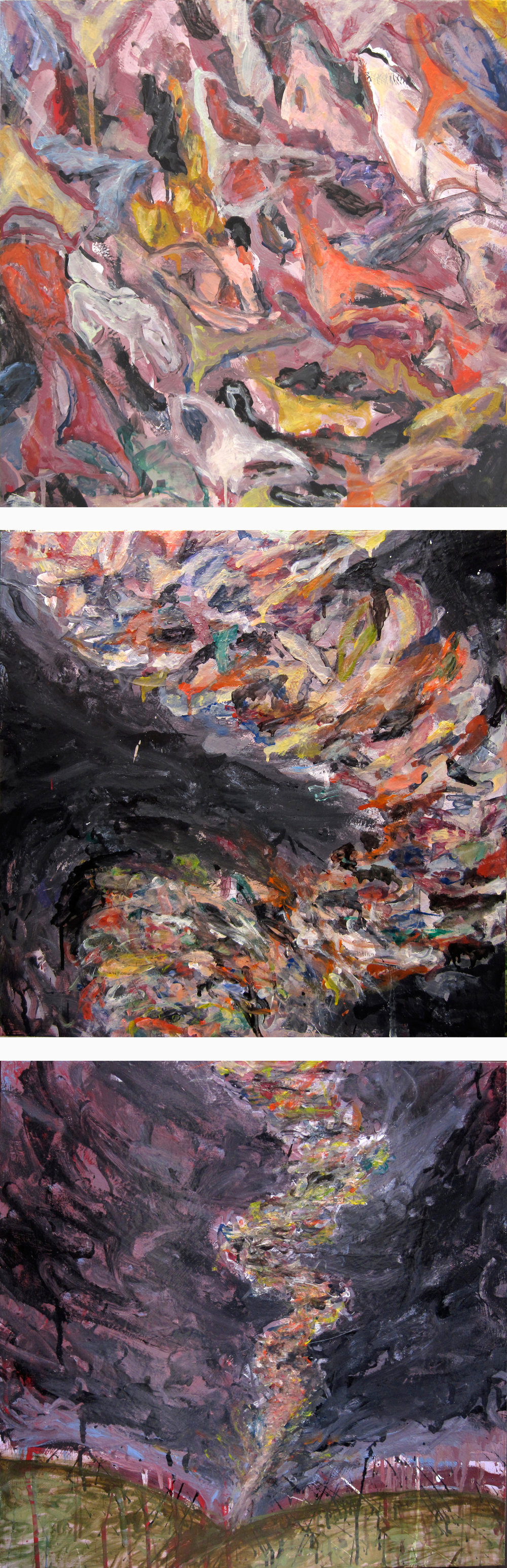 Dirty Panties Tornado (Painting Series)