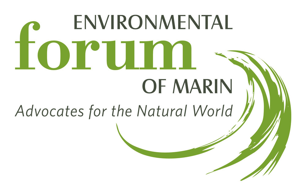 - Environmental Forum of Marin is dedicated to the protection and enhancement of the environment by educating its Members and Bay Area residents about environmental issues. Our goal is to conduct programs on environmental issues and provide continuing education for its Members and the public.