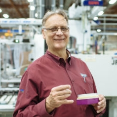 """- JIM HAPPJim leads Labcon in the concept of engineering """"eco-efficient"""" operations and environmentally friendly products. He has also led Labcon to a number of patents, category-leading products, and partnerships with companies who embrace a sustainable vision. In 2010 Labcon purchased their Petaluma facility and installed an 800kw solar array which produces 30% of the company's power. Labcon currently manufactures 6 million pieces per day with 35% of the products being exported to 57 countries."""