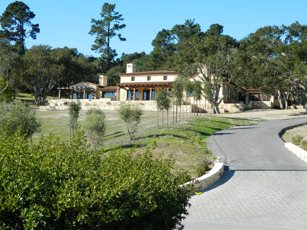 Lovett Residence - Hacienda Style Residence-Monterra