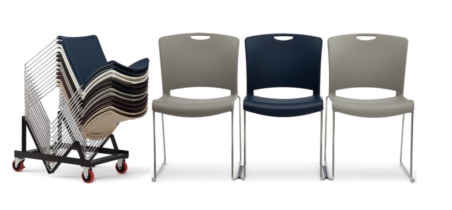 stacking chairs — caliber office furniture