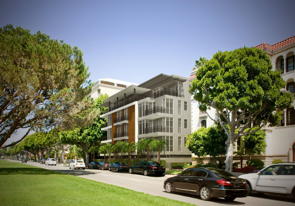 Empire at Burton Way - Empire at Burton Way is a 23-unit multifamily residential project located in one of the finest locations in Beverly's Hills. This building is within a short walking distance to a number of world famous luxury shops and high-end boutiques.