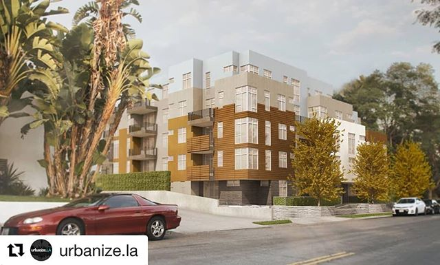 #Repost @urbanize.la ・・・ Five-story, 34-unit Empire at Norton development makes progress in West Hollywood. See more at Urbanize.LA.  #losangeles #realestate #development #construction #architecture #urbanizela #Westhollywood #weho #empirepropertygroup #levinmorrisarchitects