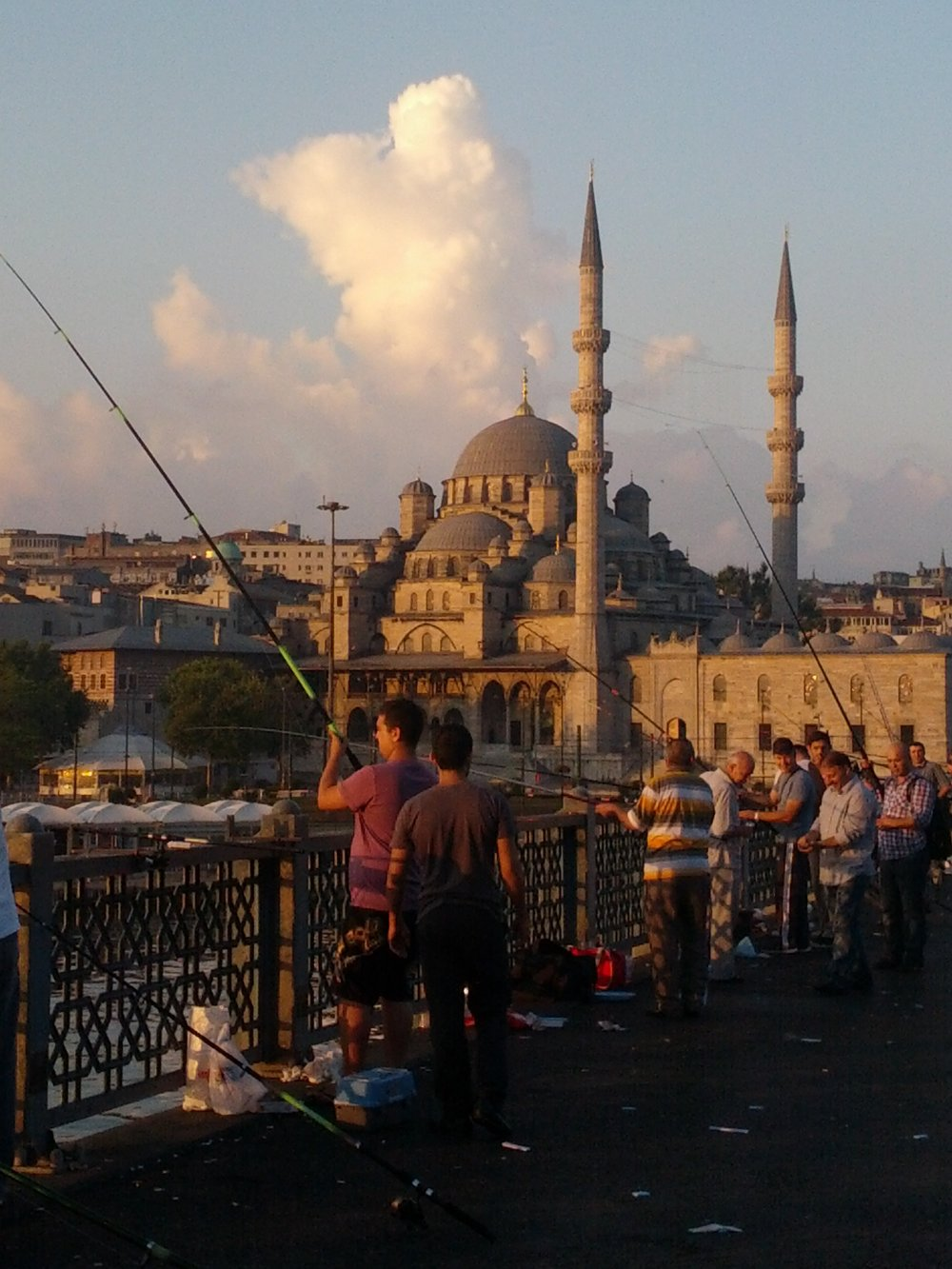 View from the Galata Bridge