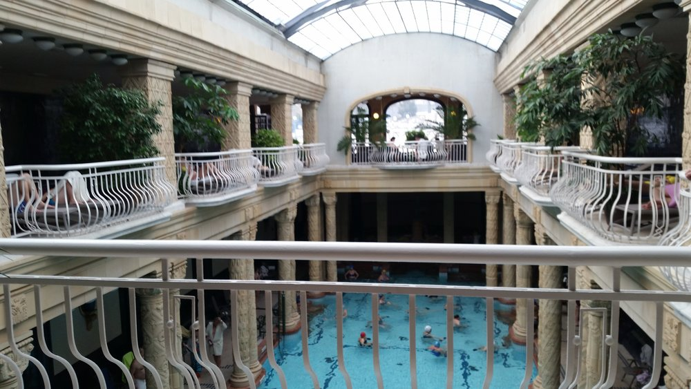 A GOOD SOAK - The thermal bath houses of Budapest