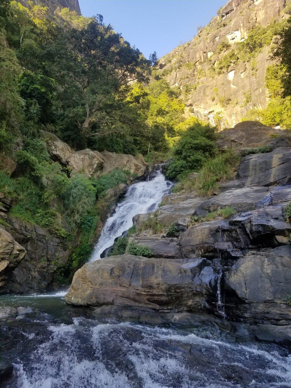 Ravana Falls outside Ella