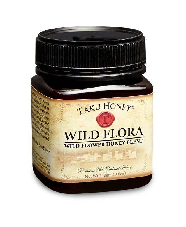 Wildflower  Derived from the nectar of numerous flowers or blossoms, it's light, sweet and full of flavour.  Great as a sweetener, or with toast.