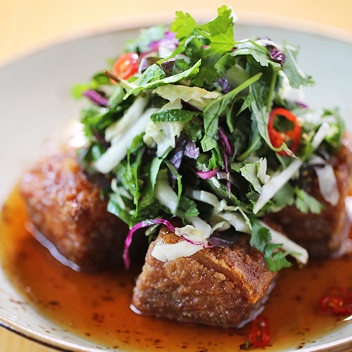 Melbourne Sticky pork belly Find a table at Red Spice Road