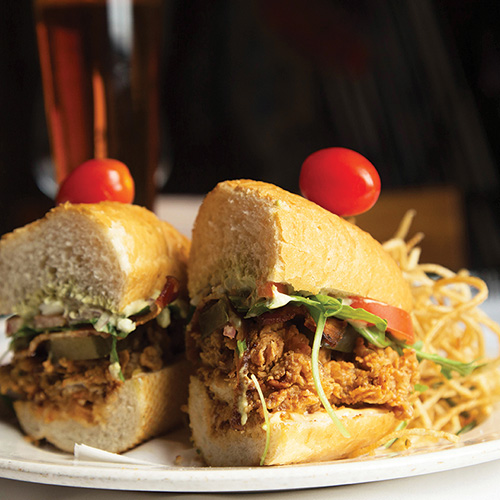 New Orleans Oyster po'boy Find a table at Emeril's