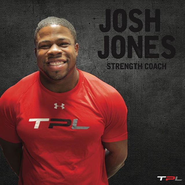 Josh Jones is the Head Strength Coach at the Performance Lab.  Born and raised in Abilene Texas, Josh attended Abilene High where he excelled in football, and was part of the State Champion team in 2009.  During high school, he also competed in the State Championship in Powerlifting his freshman, sophomore, and junior years.  The US Marine Corp. presented Josh with the Honor, Courage, and Commitment Award during the 2010-2011 football season.  Upon graduation, Josh earned an athletic scholarship to McMurry University where he excelled as a middle linebacker for the Warhawks and earned the honor of team captain.  Majoring in Sociology and minoring in Kinesiology, Josh began his pursuit towards coaching and fitness.  As an intern at Action Zone, Josh began his coaching career.  He was able to work under Coach Bennie Wylie who is currently the Head Strength and Conditioning coach at the University of Oklahoma.  Coach Jones has trained some of the top high school and collegiate athletes in Texas, and has helped prepare athletes for NFL tryouts.  He has also been a part of Alpha Warrior, a fitness and performance-based program designed specifically for the military.  Coach Jones has helped to educate and implement specific training programs for our enlisted men and women.  Coach Jones is USAW Sports Performance certified and continues to pursue a certification in Strength and Conditioning.  Coach Jones brings high-energy, high expectations, and encouragement to each of his classes at The Performance Lab.  He has a gift for seeing the potential an individual has and helps them to set goals and push to achieve them.