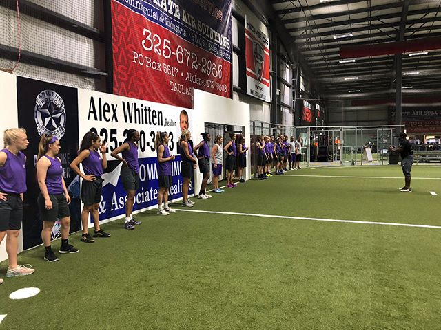 We enjoyed having the ACU basketball team working out with us last week. Check out all the pictures we got of the girls and Coach Jones. Great job ladies!