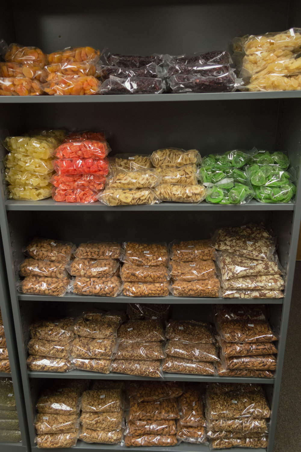 Dried Fruits and Nuts!
