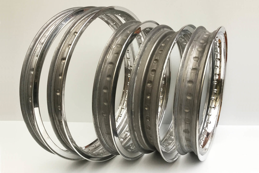Morad - beaded edge rims.