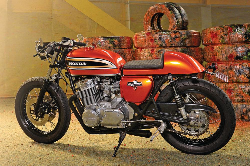 Honda CB750 Lightfoot Wheels