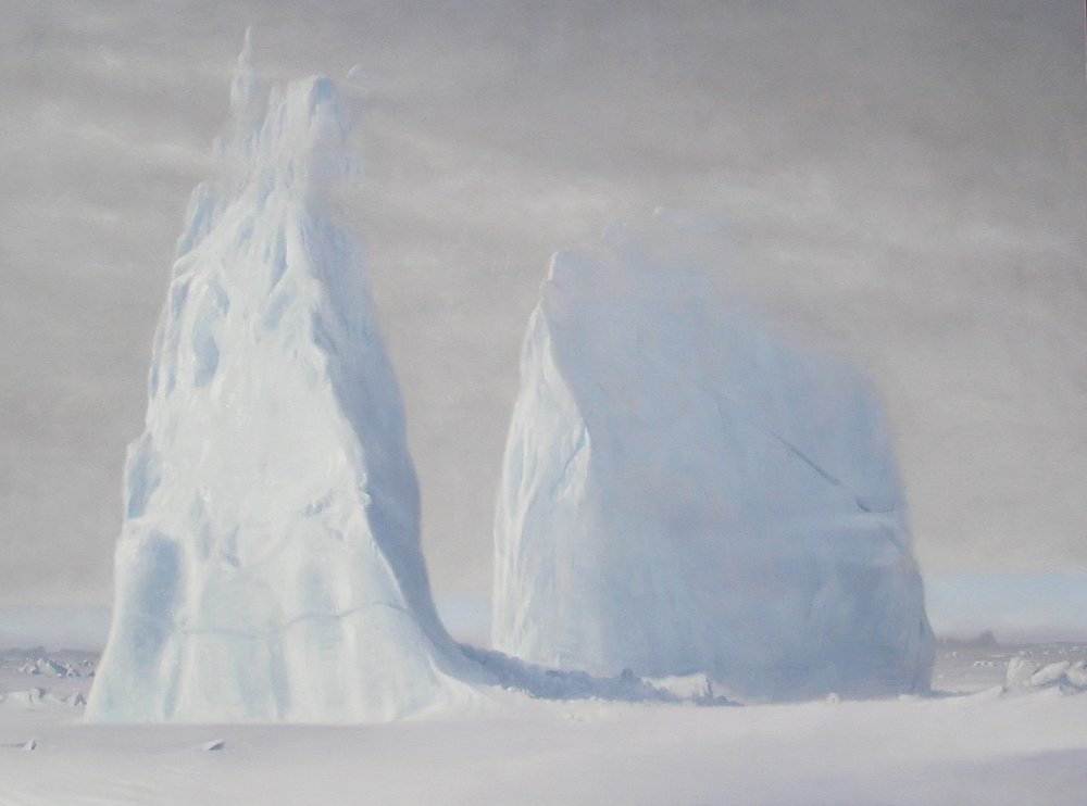 Baad Fjord , 152cm x 107cm. Oil on Canvas.