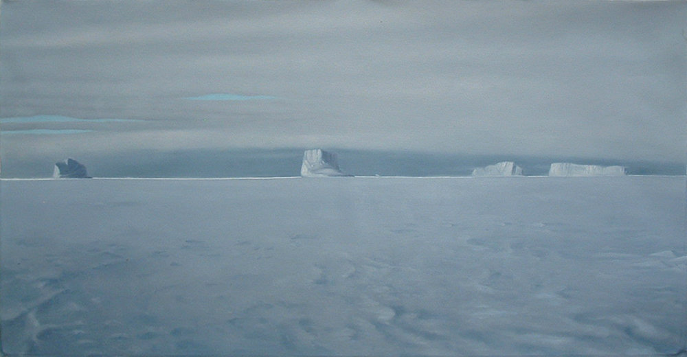 Coming off South Cape , 90cm x 41cm. Oil on Canvas.