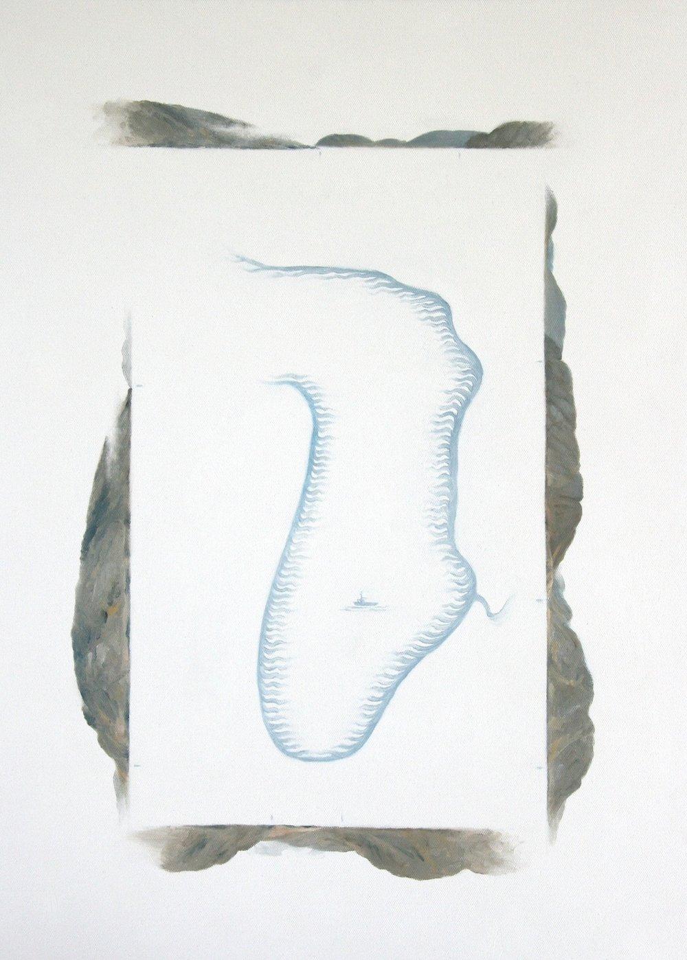 Kanaqukjuaq , 61cm x 46cm. Oil on Canvas