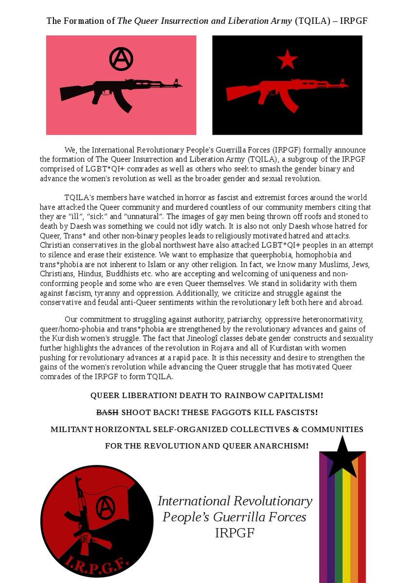 TQILA announcement/manifesto
