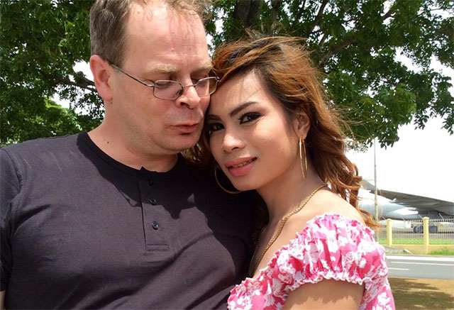 Jennifer Laude and fiance Marc Sueselbeck. Photo from Laude's Facebook account.