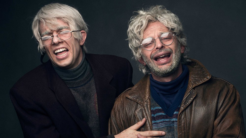John Mulaney (left) and Nick Kroll (right)