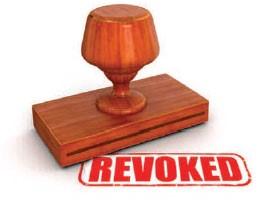 Occupancy License Revoked