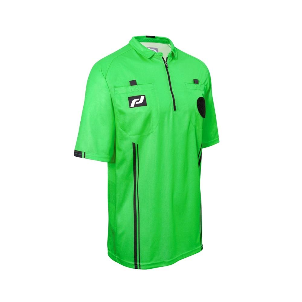 e1b87d20122 Soccer Referee Short Sleeve Shirt - Elite - Green