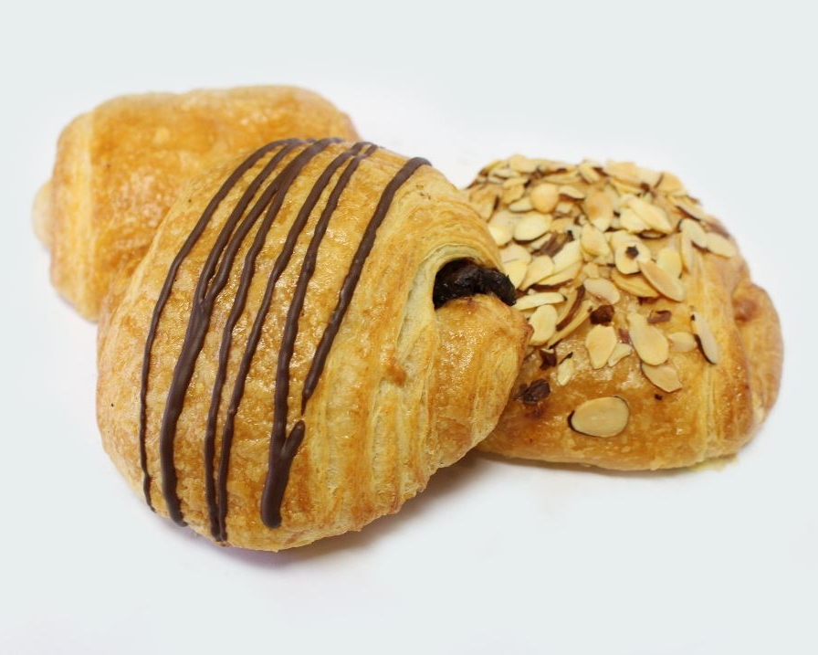 Croissants - ChocolateButterAlmondChocolate AlmondSavoryHam & Cheese