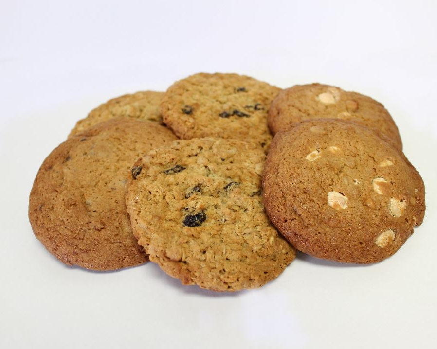 COOKIES - Oatmeal RaisinChocolateHazelnut MochaMacadamia White Chocolate