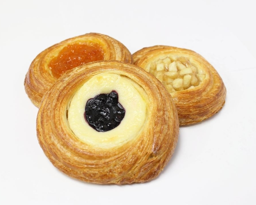 DANISHES - GuavaPassion FruitMangoTropical Cheese