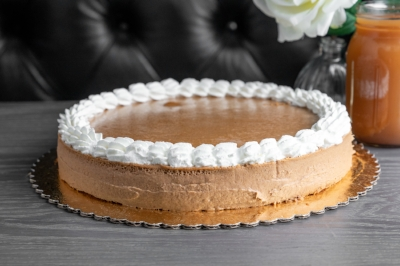 PUMPKIN CHEESECAKE - By The SliceWhole Pie