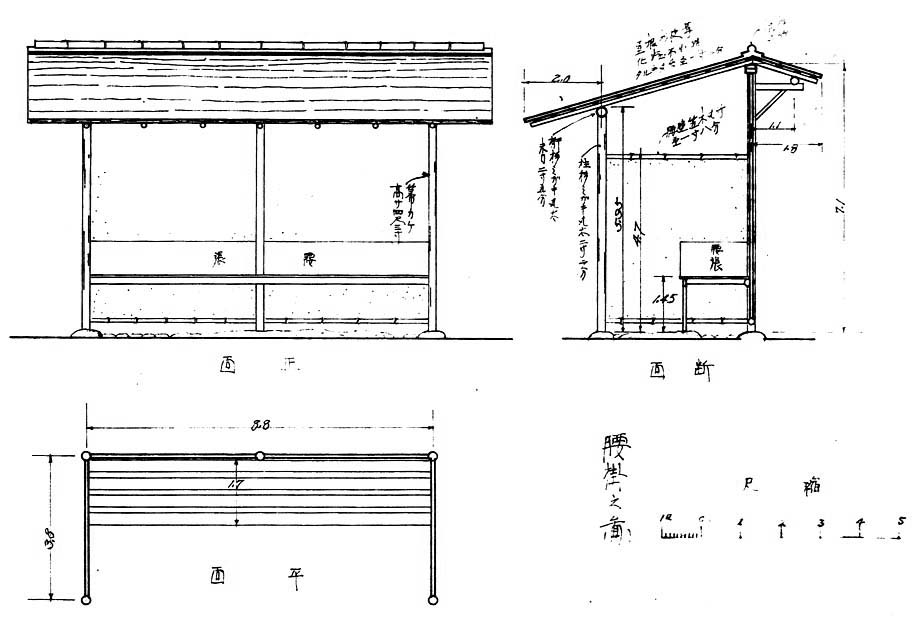 Typical Machiai design