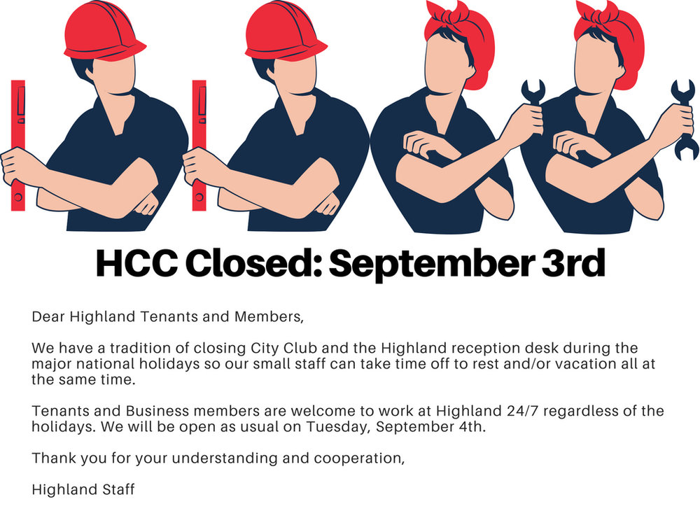 city club closed_ 9%2F3 Labor Day.jpg