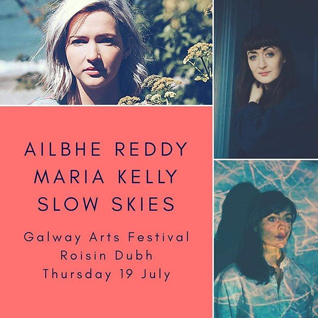 Playing a solo set this evening alongside these beautiful ladies in the @roisindubhpub .. So excited!! Doors at 8pm 💜  I will have vinyl for sale after the show too - come on down! . .  #music #galwayinternationalartsfestival #galway