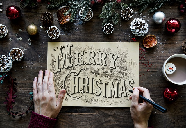 ambientador casero navideño