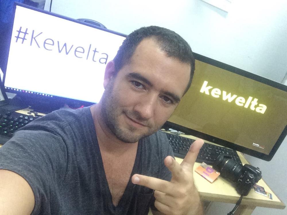 Carlos García, founder of Kewelta.
