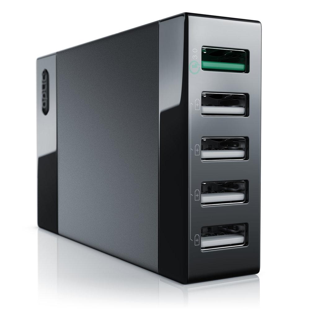 Aplic - USB Ladegerät Quick Charge  AMAZON