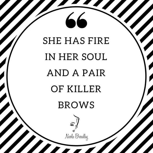 Quote of the day #qotd #brows #beauty #microblading #ff