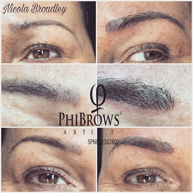 Fresh PhiBrows 😍 #brows #microblading #beauty #monday #browsonfleek #follow