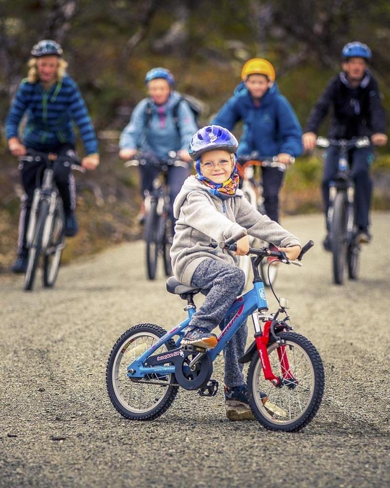 Sykkelutleie - Vi har sykler for store og små