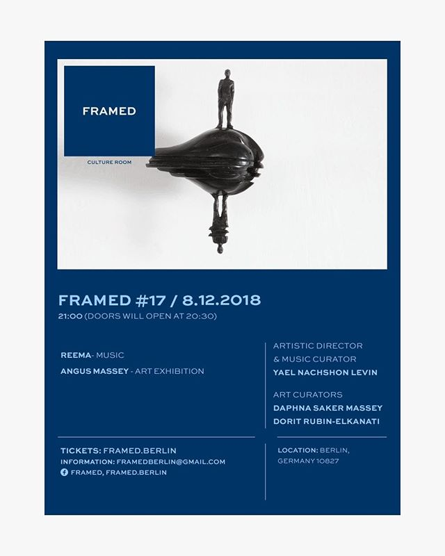 Angus Massey's work will be on view this Saturday for one evening. As apart of Framed!  Here is the invitation... . . . #framed #realdream #expandingawareness  #expandingawarnessthroughart #Shaivism #Advaita #unity #transcend  #expandingawarness #sculpture #figurativesculpture  #art #gallery #berlin #pietrasanta #italy #Siena #florence #india #yoga #awake #contemporaryart #psychedelicart #contemporarysculpture  #outdoorsculpture #sculpturegarden  #bronzesculpture #realdream #dream #meditation  #lightworker