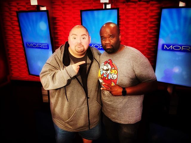 Hung out with @fluffyguy today. Gabriel Iglesias is hilarious & is just a cool cat! #fluffy #funny #comedy Go see his show this weekend at @themiragelv!!!