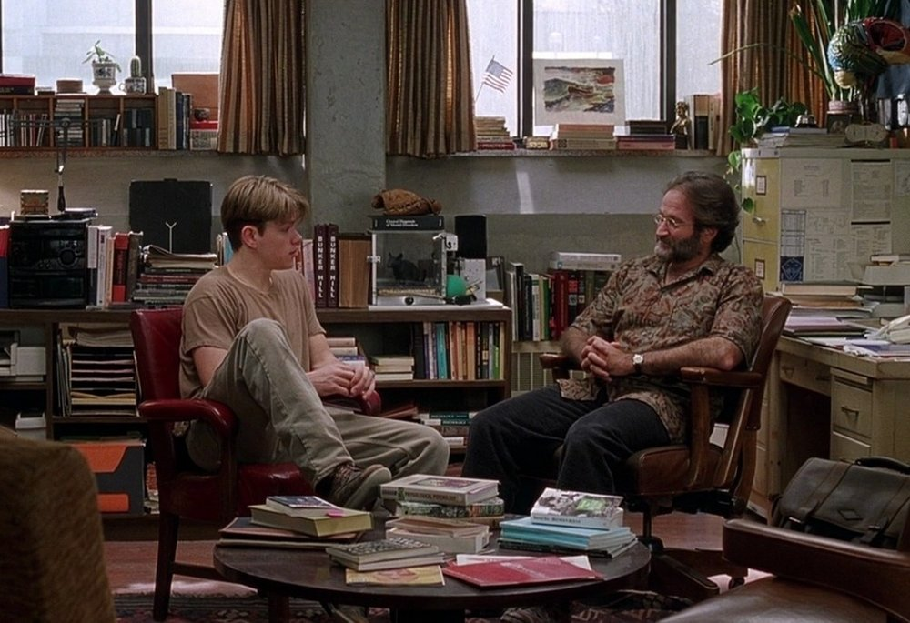 Athleisure, Class, and 'Good Will Hunting'   Through clearly delineated costuming,  Good Will Hunting  creates a visual grammar that evokes the tension Will feels as a character.  Read the rest at  Fashion x Film