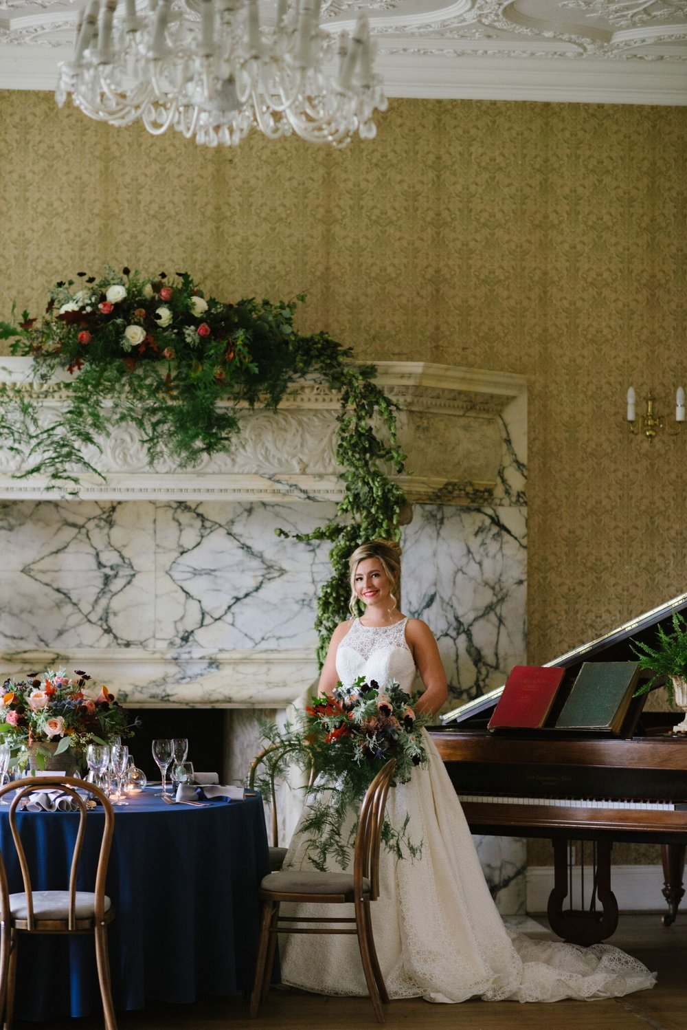 The ENGLISH WEDDING BLOG - Rich and opulent wedding styling from Balcombe Place, West Sussex